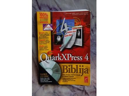 QUARK X PRESS 4 - BIBLIJA