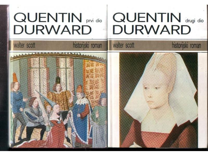 QUENTIN DURWARD 1-2 Walter Scott