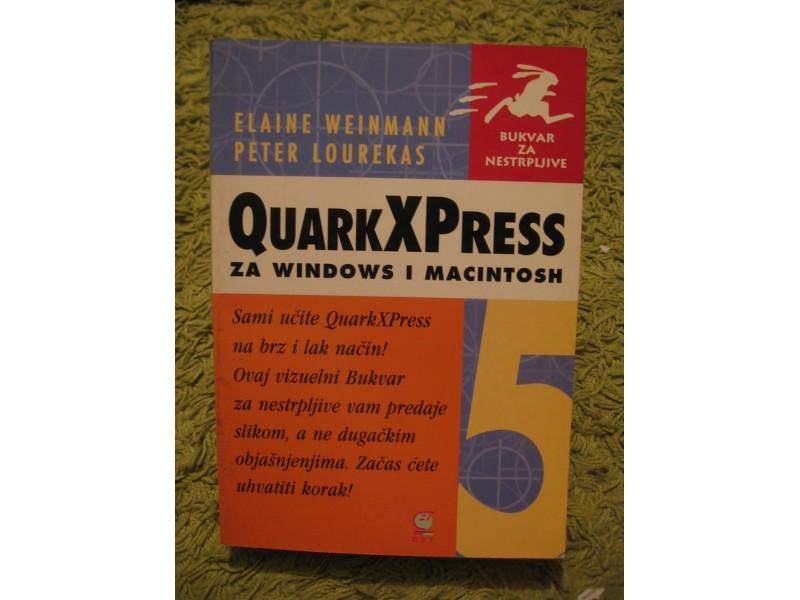 QuarkXPress 5 za windows i macintosh
