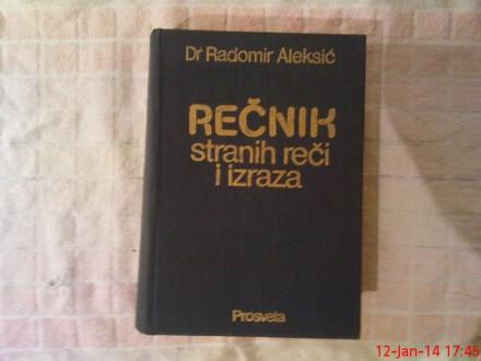 R. ALEKSIC -  RECNIK  STRANIH  RECI I  IZRAZA