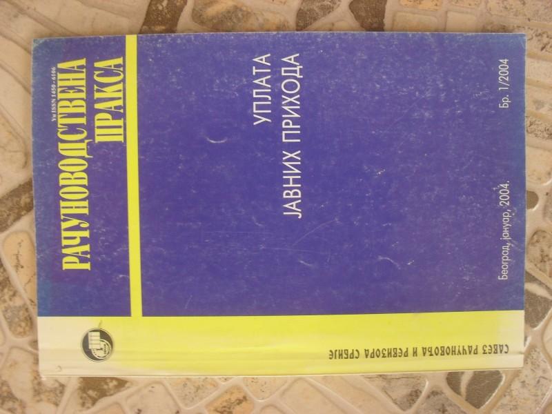 RACUNOVODSTVENA PRAKSA 1/2004