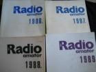 RADIO AMATER 1986, 1987, 1988, 1989.