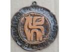 RADOMIR STEVIC RAS (?) medalja Teatra, stilizovan Pegaz