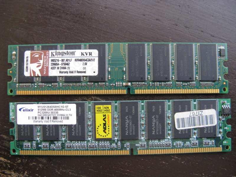 RAM memorija - DDR1