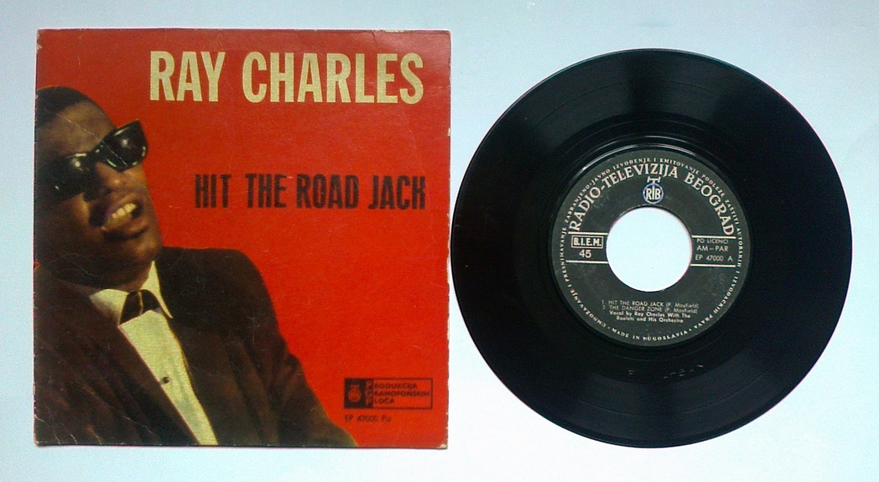 RAY CHARLES - Hit The Road Jack (EP) licenca - Kupindo com