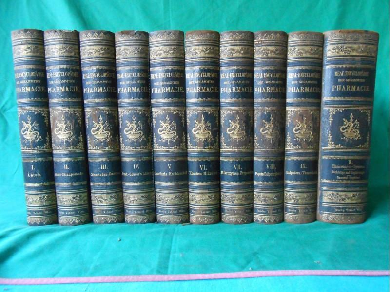 REAL-ENCYCLOPADIE DER GESAMMTEN PHARMACIE  1886-1891.g