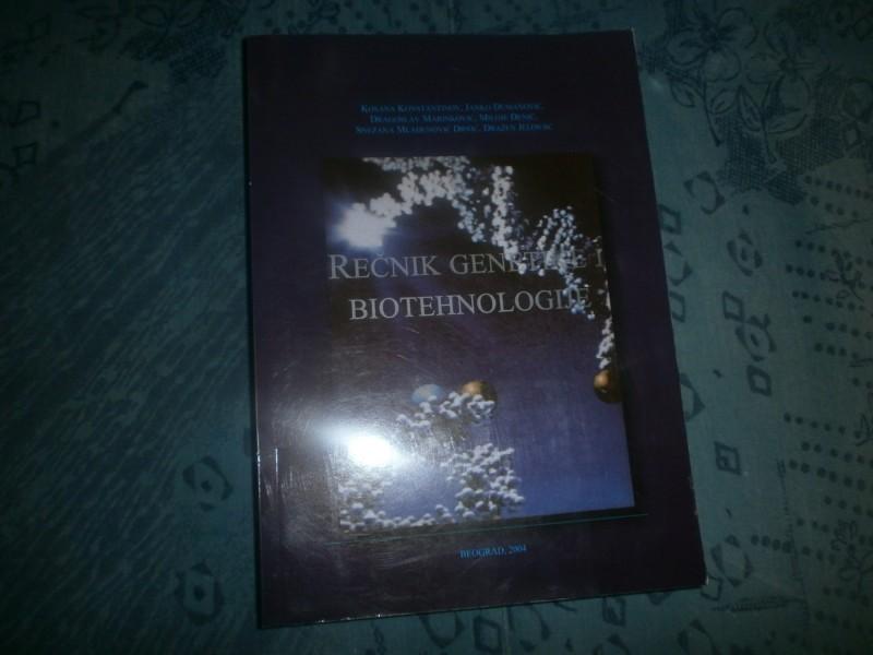 RECNIK GENETIKE I BIOTEHNOLOGIJE