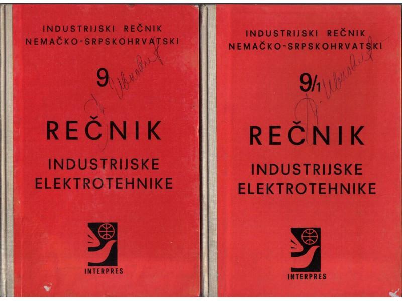 RECNIK INDUSTRIJSKE ELEKTROTEHNIKE 9 I 9/1