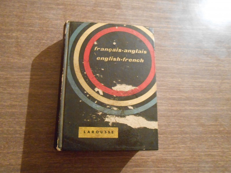 RECNIK LAROUSSE-FRANCAIS-ANGLAIS/ENGLISH-FRENCH