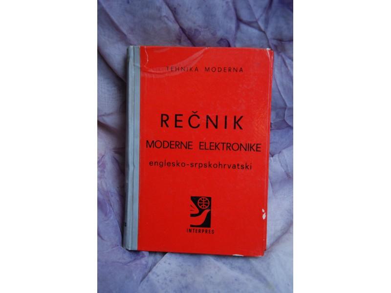 RECNIK MODERNE ELEKTRONIKE - englesi-srpskohrvatski