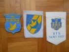 RFK NOVI SAD, amblemi i zastavica