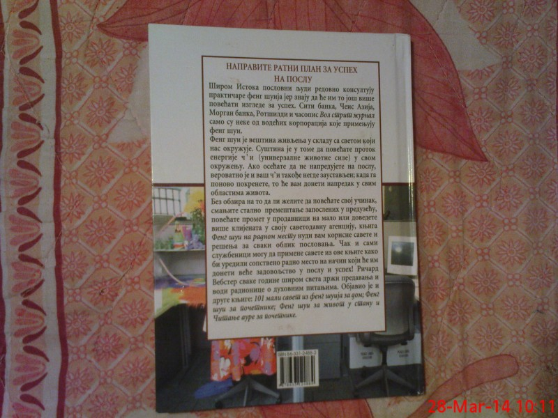 RICARD VEBSTER -  FENG  SUI - NA RADNOM MESTU