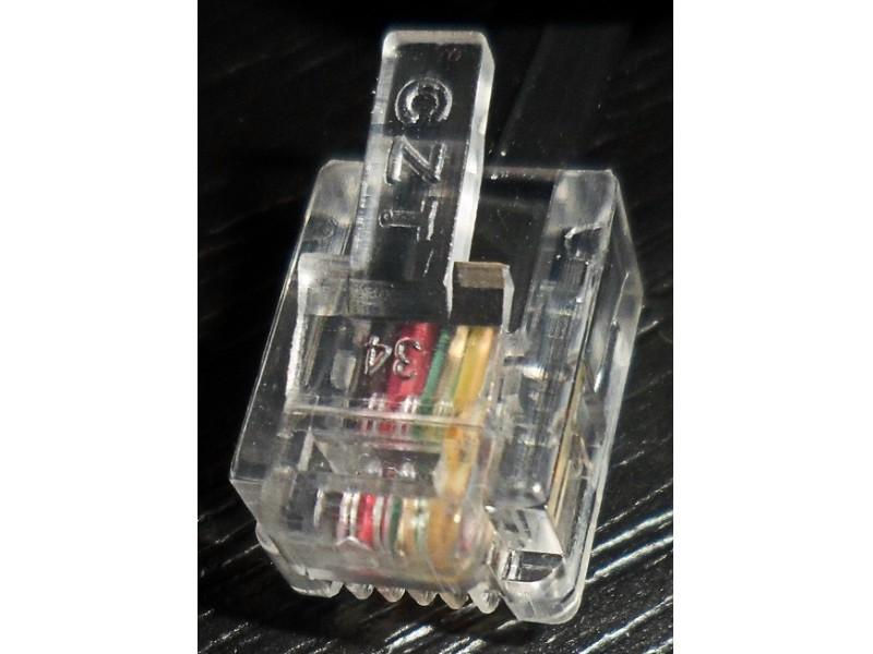 RJ11 telefonski data (4 pina) kabl 2m
