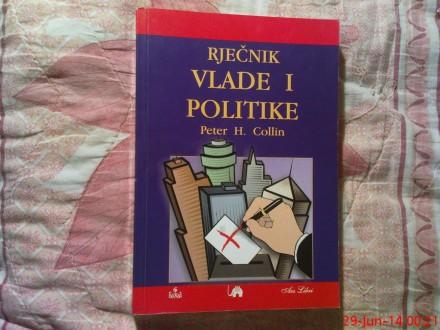 RJECNIK  VLADE I POLITIKE - PETER H. COLLIN