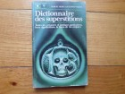 ROBERT MOREL SUZANNE WALTER-DICTIONNAIRE DES SUPERSTITI