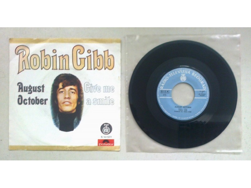 ROBIN GIBB - August October (singl) licenca