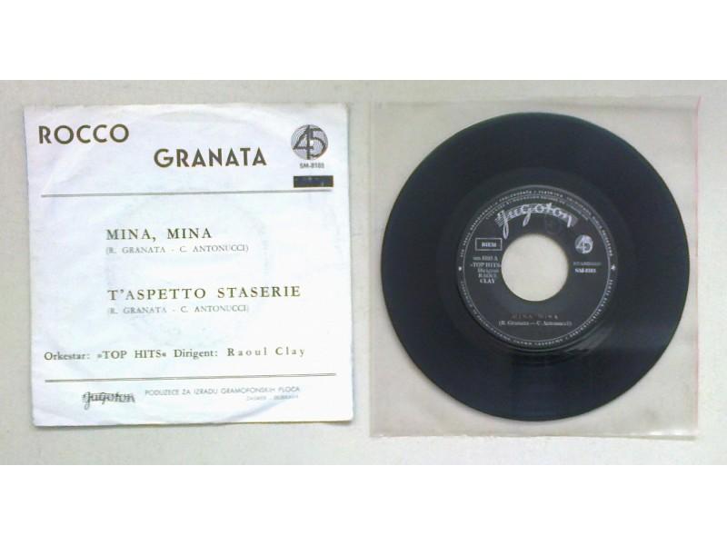 ROCCO GRANATA - Mina, Mina (singl) licenca
