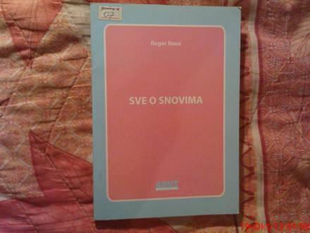 ROGER ROUX  -  SVE  O   SNOVIMA
