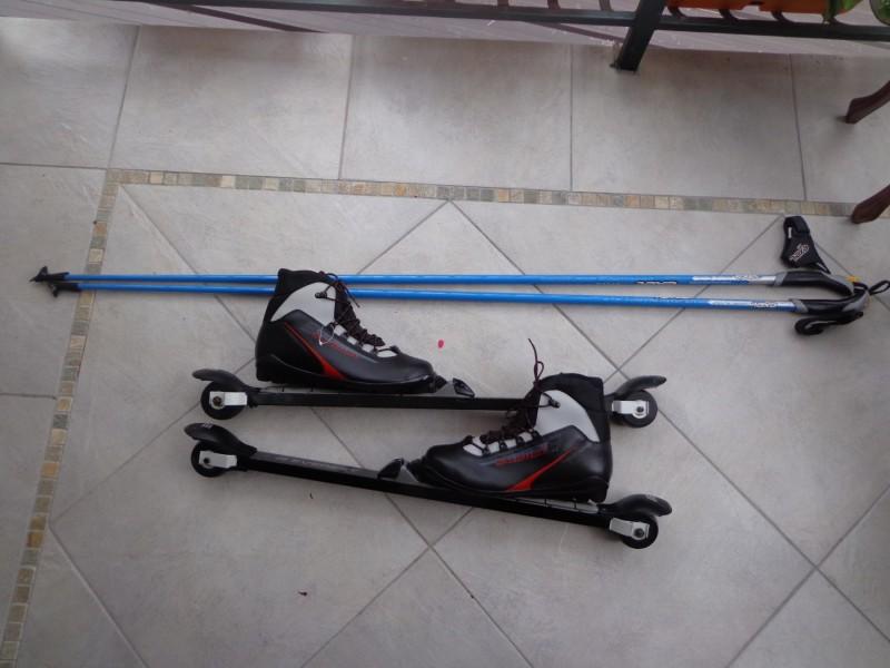 ROLLER SKI-ZA Nordijsko Skijanje na betonu