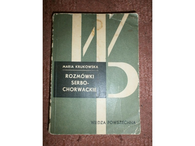 ROZMOWKI SERBO-CHORWACKIE   Maria Krukowska