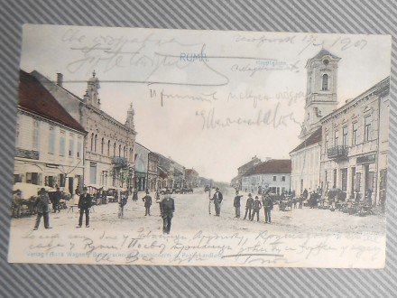 RUMA     - glavna ulica  1907                 ( I-05 )
