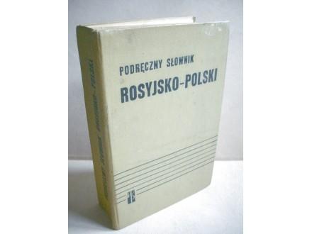 RUSKO - POLJSKI REČNIK