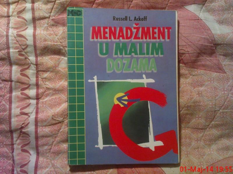 RUSSELL L. ACKOFT  -  MENADZMENT  U  MALIM  DOZAMA