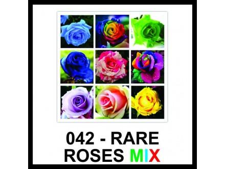 RUŽE RAZNE - vrhunsko seme - MIX BOJA!