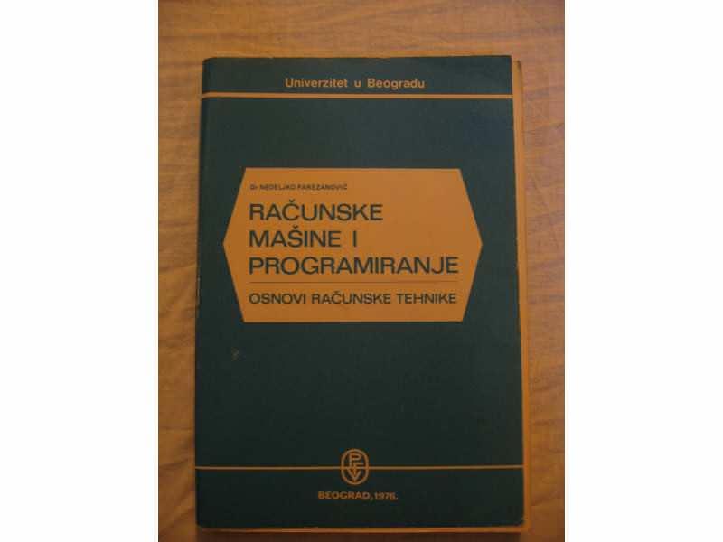 Racunske masine i programiranje osnovi racunske tehnike