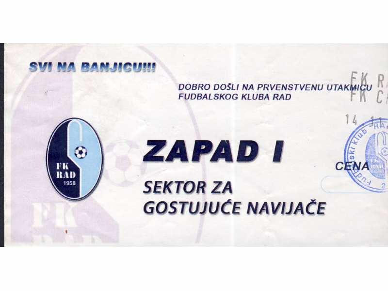 Rad - Crvena Zvezda  , 2010.god. - NOVEMBAR