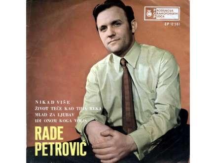 Rade Petrović - Nikad Više