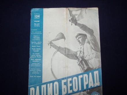 Radio Beograd,JRM,casopis,broj 134.