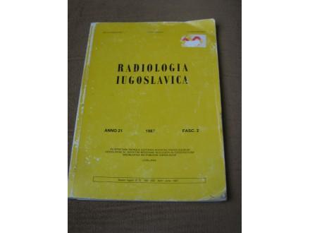 Radiologia Iugoslavica - 1987