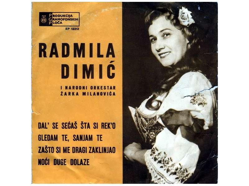Radmila Dimić - Dal` Se Sećaš Šta Si Rek`o