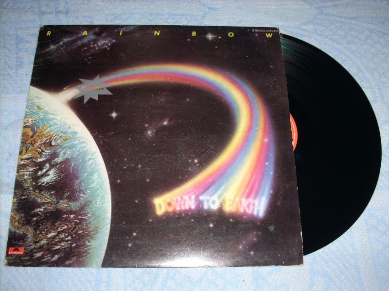 Rainbow-Down To Earth LP