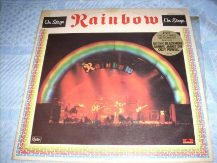 Rainbow-On Stage 2LP