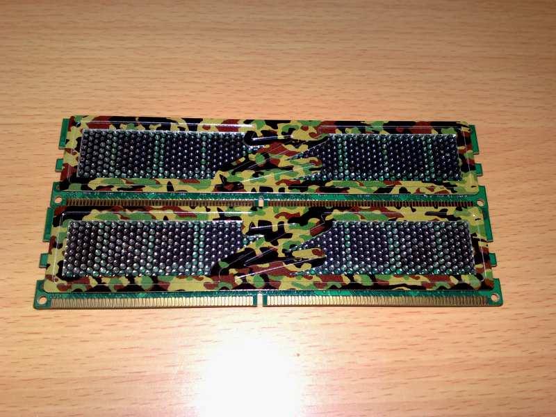 Ram Ddr2 OCZ 2x1Gb@800 Mhz Special Ops Edition!