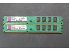 Ram memorija Kingston 2 x 2Gb DDR3 1333MHz