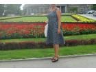 Raskosna haljina sa golim ledjima-viskoza, veliki broj