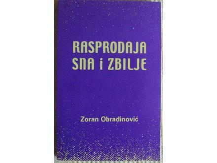 Rasprodaja sna i zbilje  Zoran Obradinović