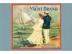 Razglednica USA, reprodukcija postera YACHT iz 1925