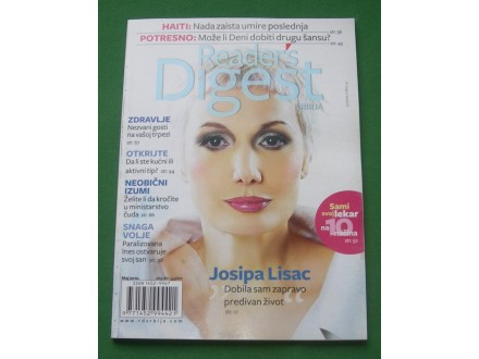 Reader s Digest, maj 2010. - Josipa Lisac