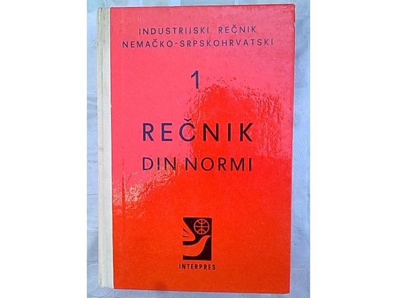 Recnik Din Normi 1