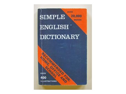 Rečnik - Simple English Dictionary
