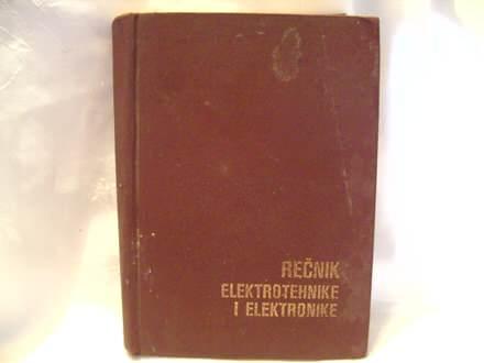 Rečnik elektrotehnike i  elektronike, Đuro Roganović