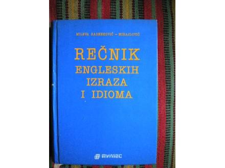 Recnik engleskih izraza i idioma - M.Mihajlovic