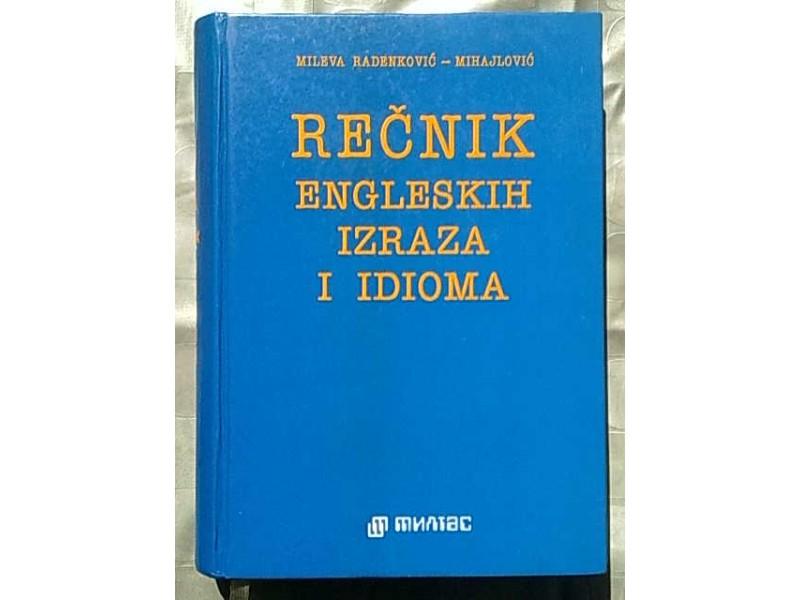 Recnik engleskih izraza i idioma-Mileva R.Mihajlovic