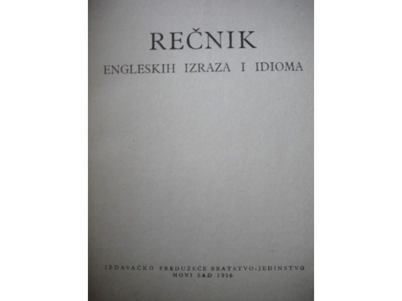 Recnik engleskih izraza i idioma