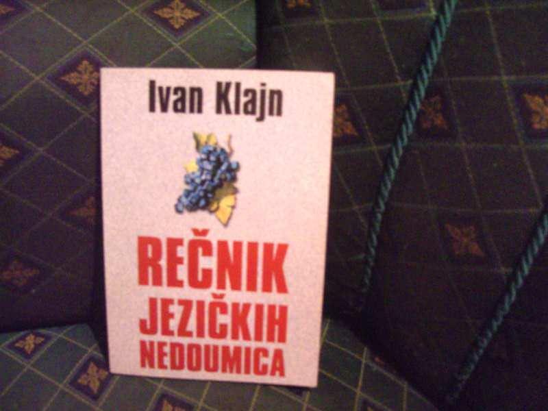 Rečnik jezičkih nedoumica Ivan Klajn