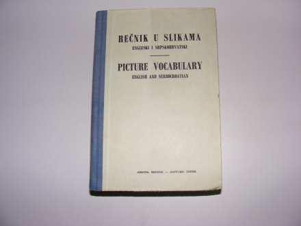 Rečnik u slikama engleski i srpskohrvatski (1965)